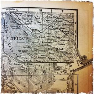 map trieste